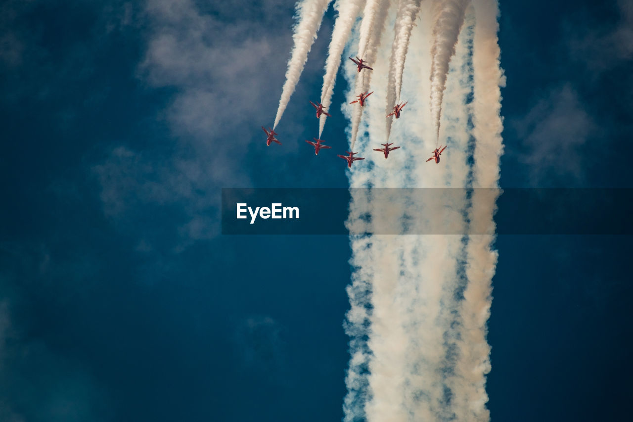 Airplanes Flying In Sky