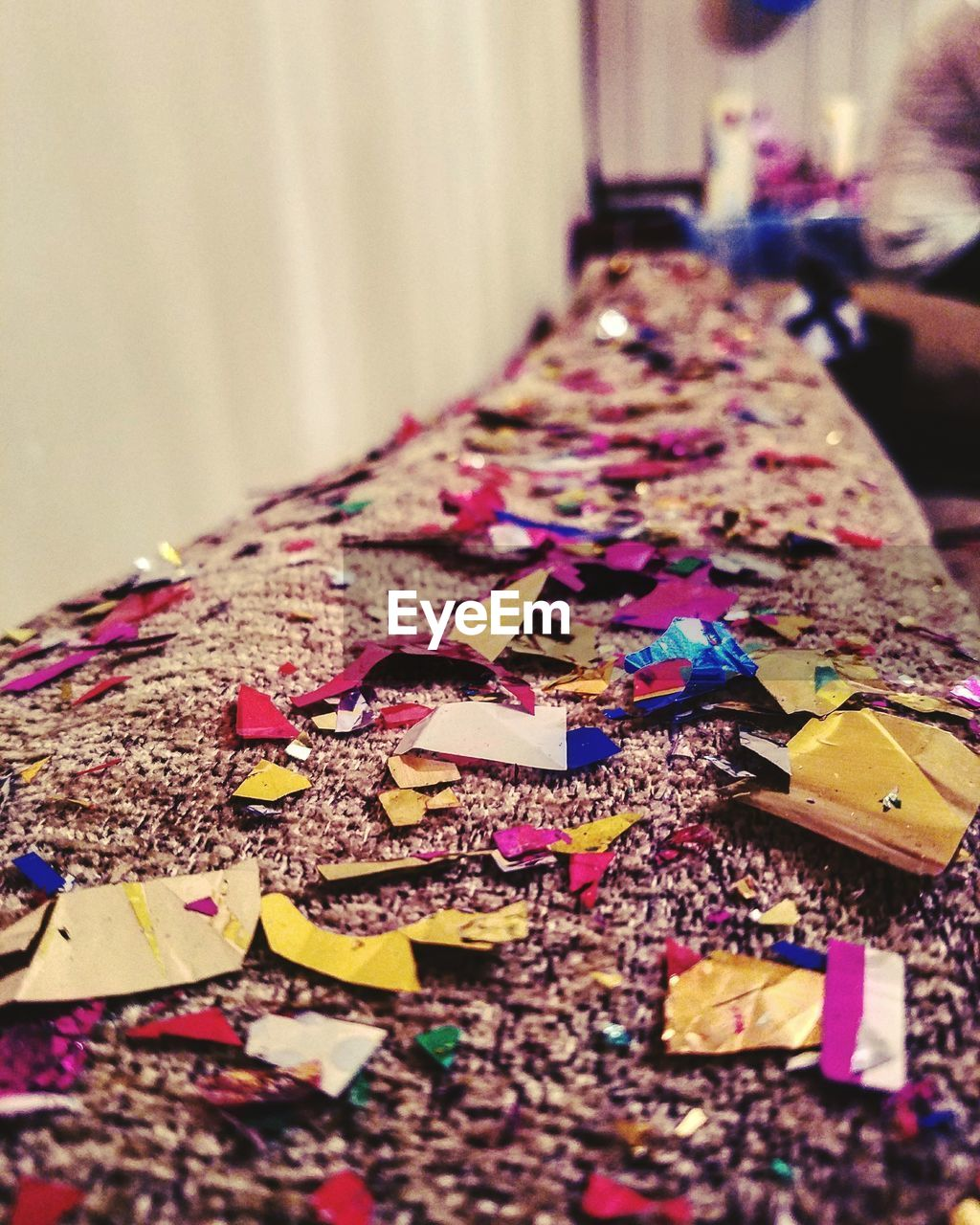 indoors, multi colored, large group of objects, selective focus, celebration, variation, close-up, no people, childhood, day
