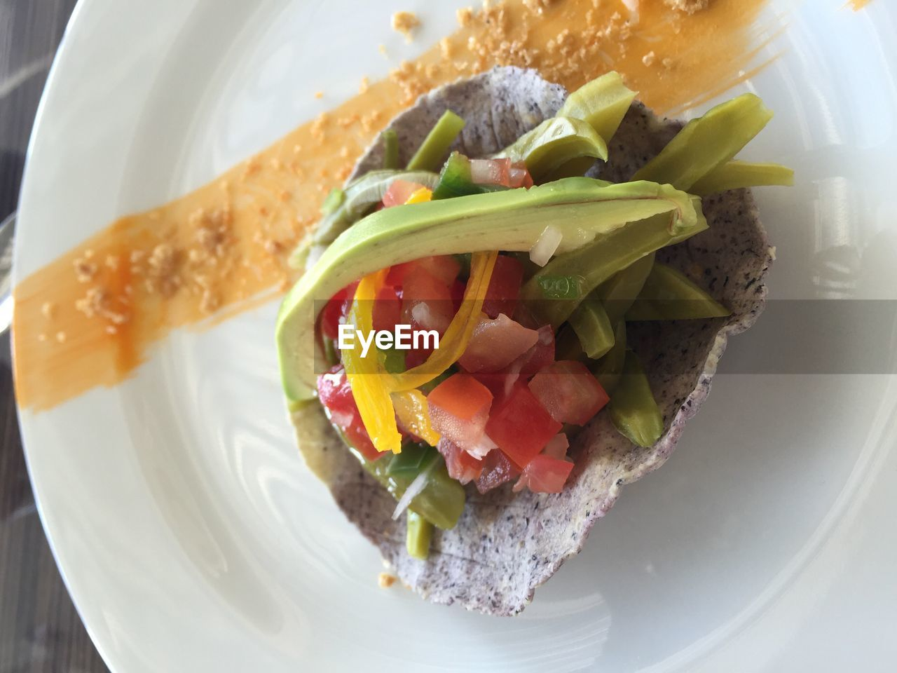ready-to-eat, plate, freshness, food and drink, food, salad, healthy eating, vegetable, serving size, close-up, no people, high angle view, lettuce, indoors, day