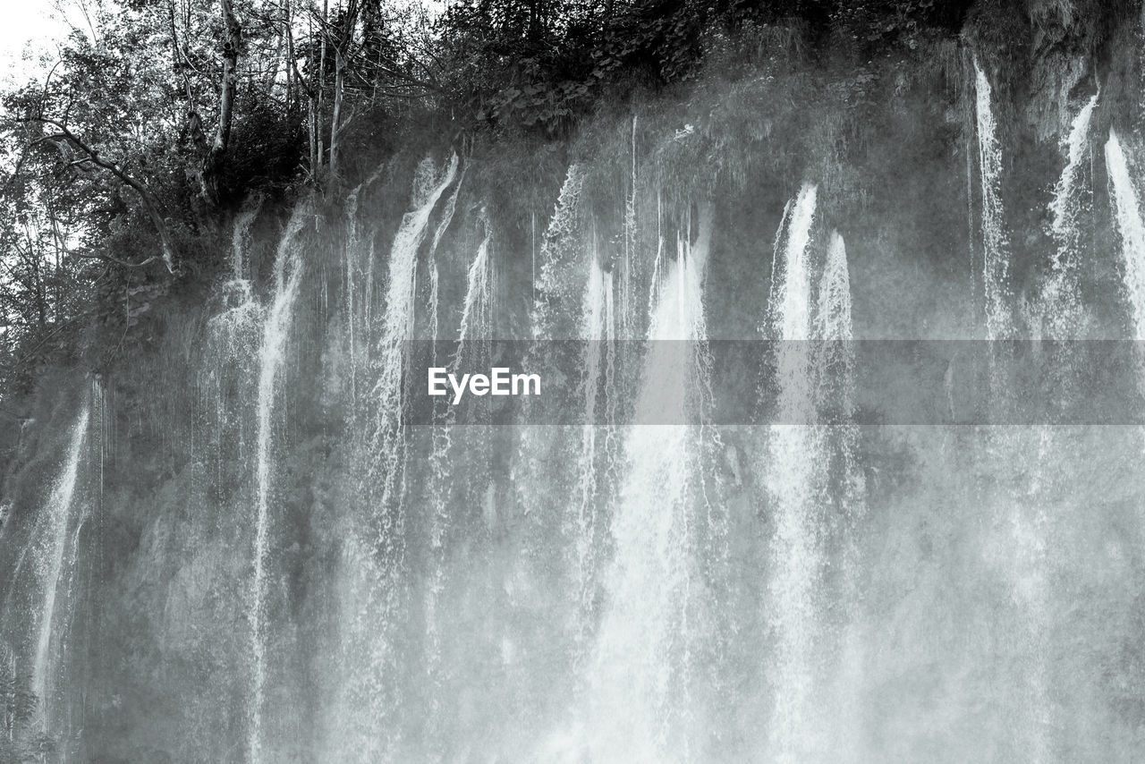 nature, water, motion, beauty in nature, no people, outdoors, day, scenics, power in nature, waterfall, wave, sky