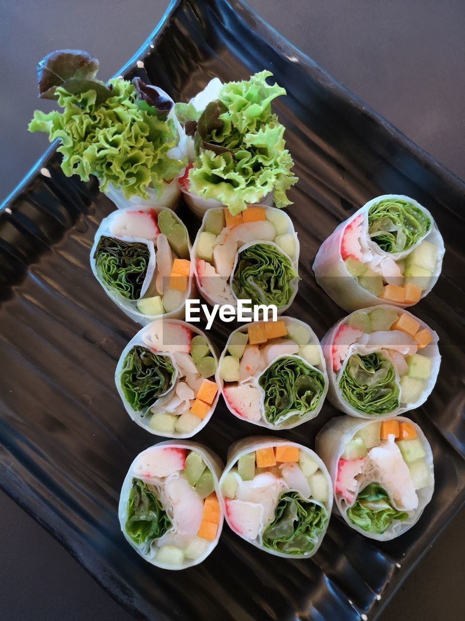food and drink, food, healthy eating, freshness, vegetable, wellbeing, still life, ready-to-eat, no people, high angle view, table, indoors, variation, choice, bowl, serving size, salad, close-up, container, asian food, japanese food, chopped
