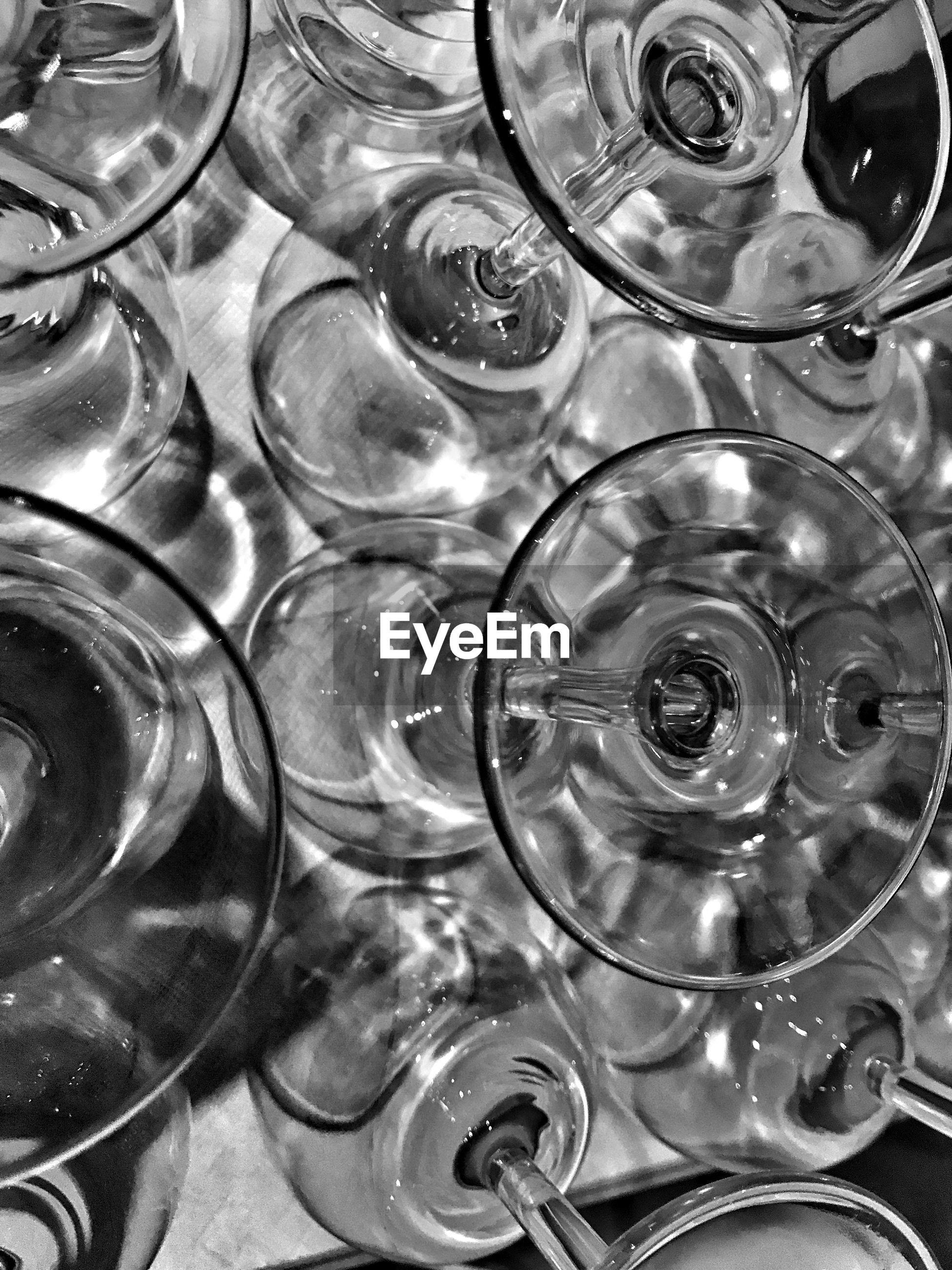 FULL FRAME SHOT OF EMPTY GLASS