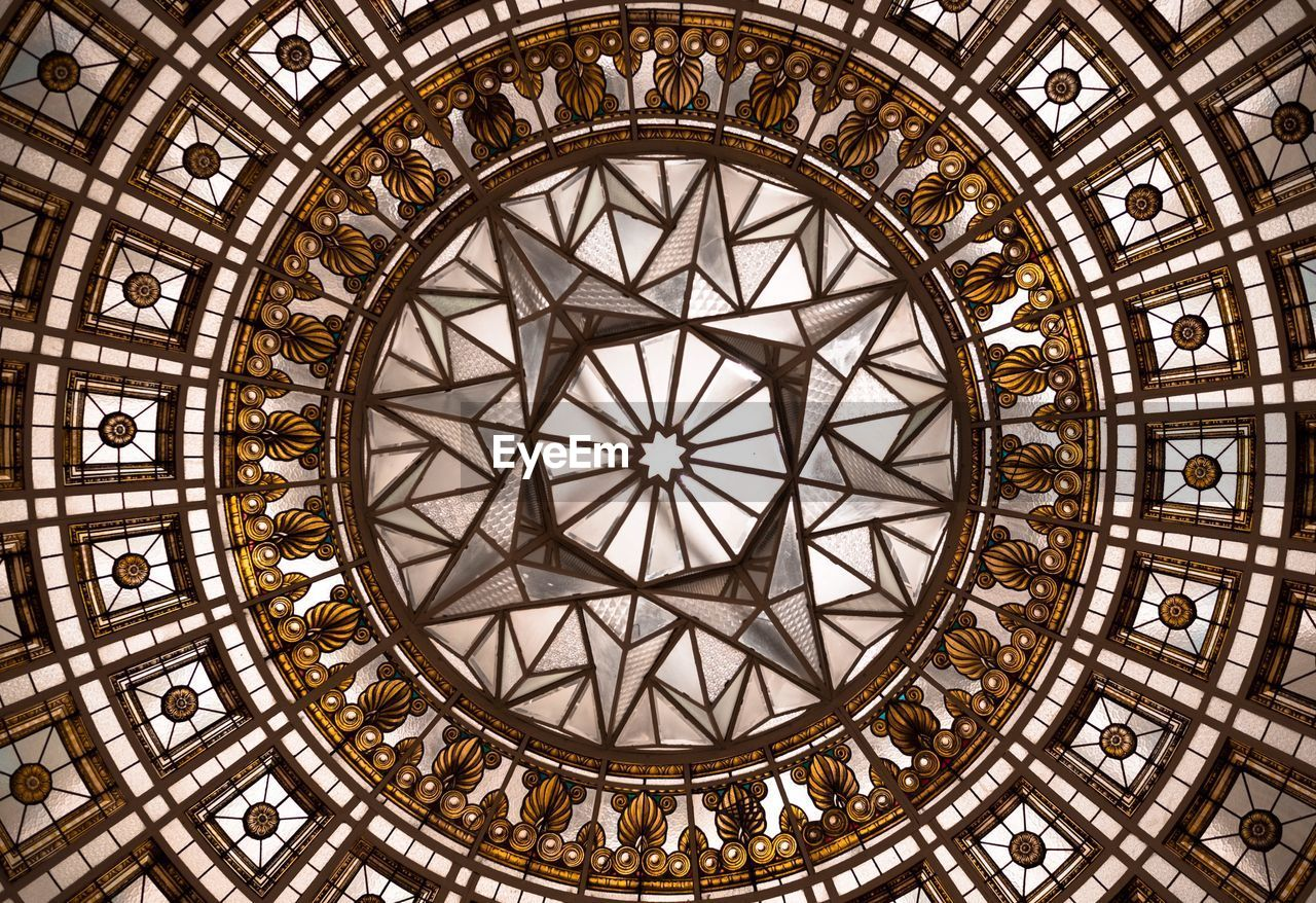architecture, built structure, ceiling, history, ornate, pattern, travel destinations, indoors, dome, no people, day, close-up, clock face, astronomy