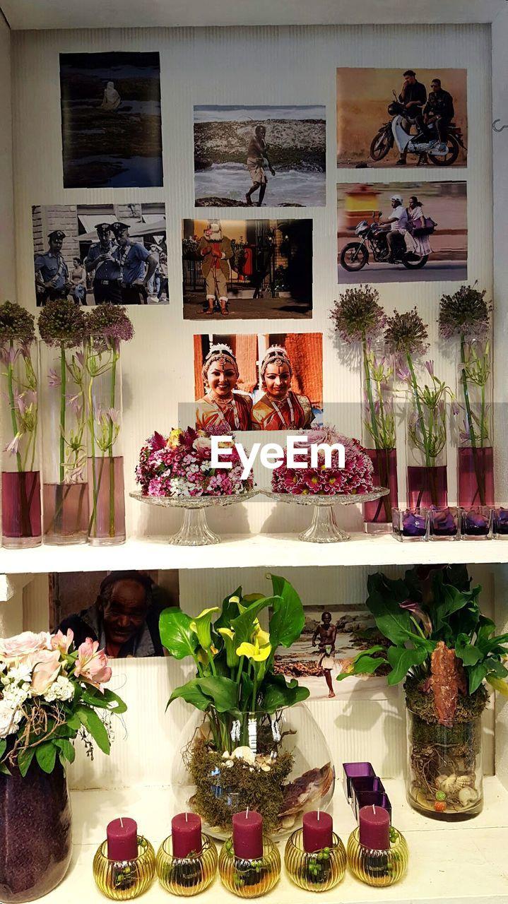 flower, indoors, retail, choice, variation, store, shelf, bouquet, women, luxury, day, beauty, freshness