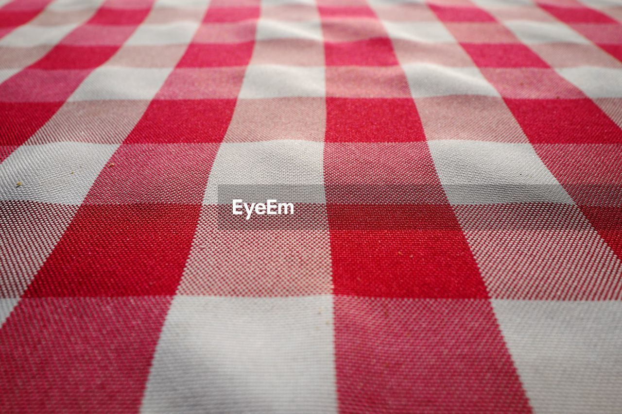 Full Frame Shot Of Tablecloth