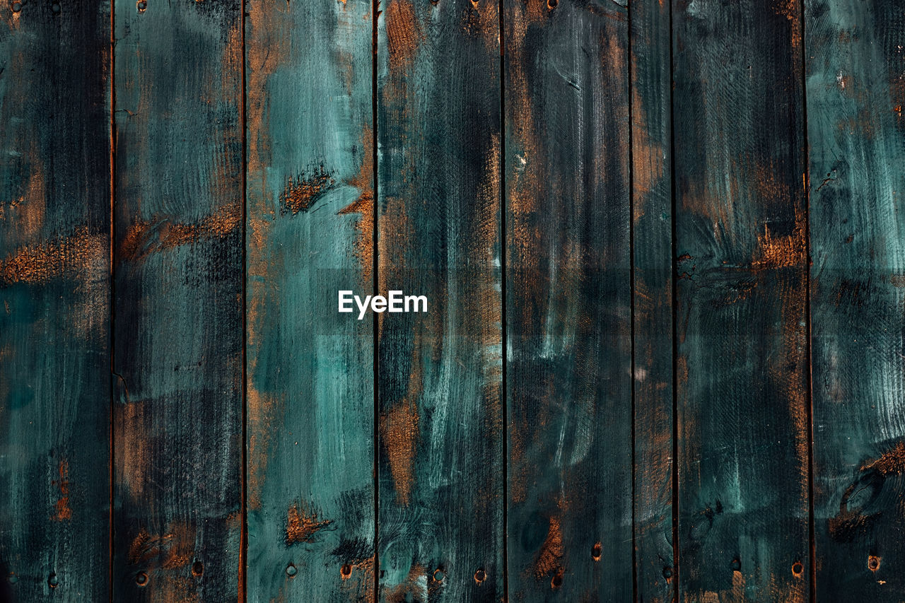 Full Frame Shot Of Rusty Wooden Wall