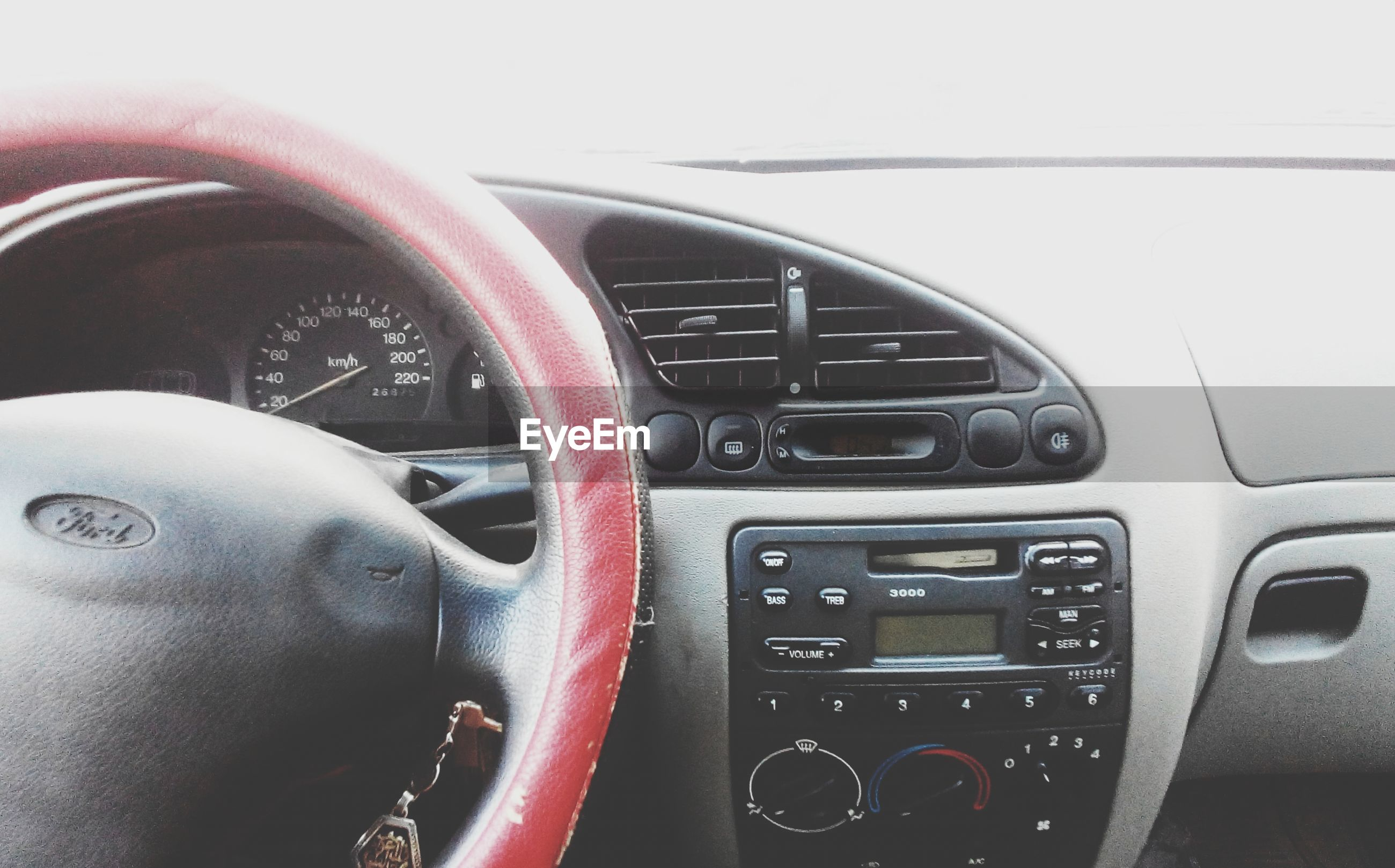 indoors, technology, close-up, transportation, old-fashioned, car, part of, land vehicle, connection, mode of transport, retro styled, metal, vehicle interior, machine part, equipment, cropped, control, no people, music, steering wheel
