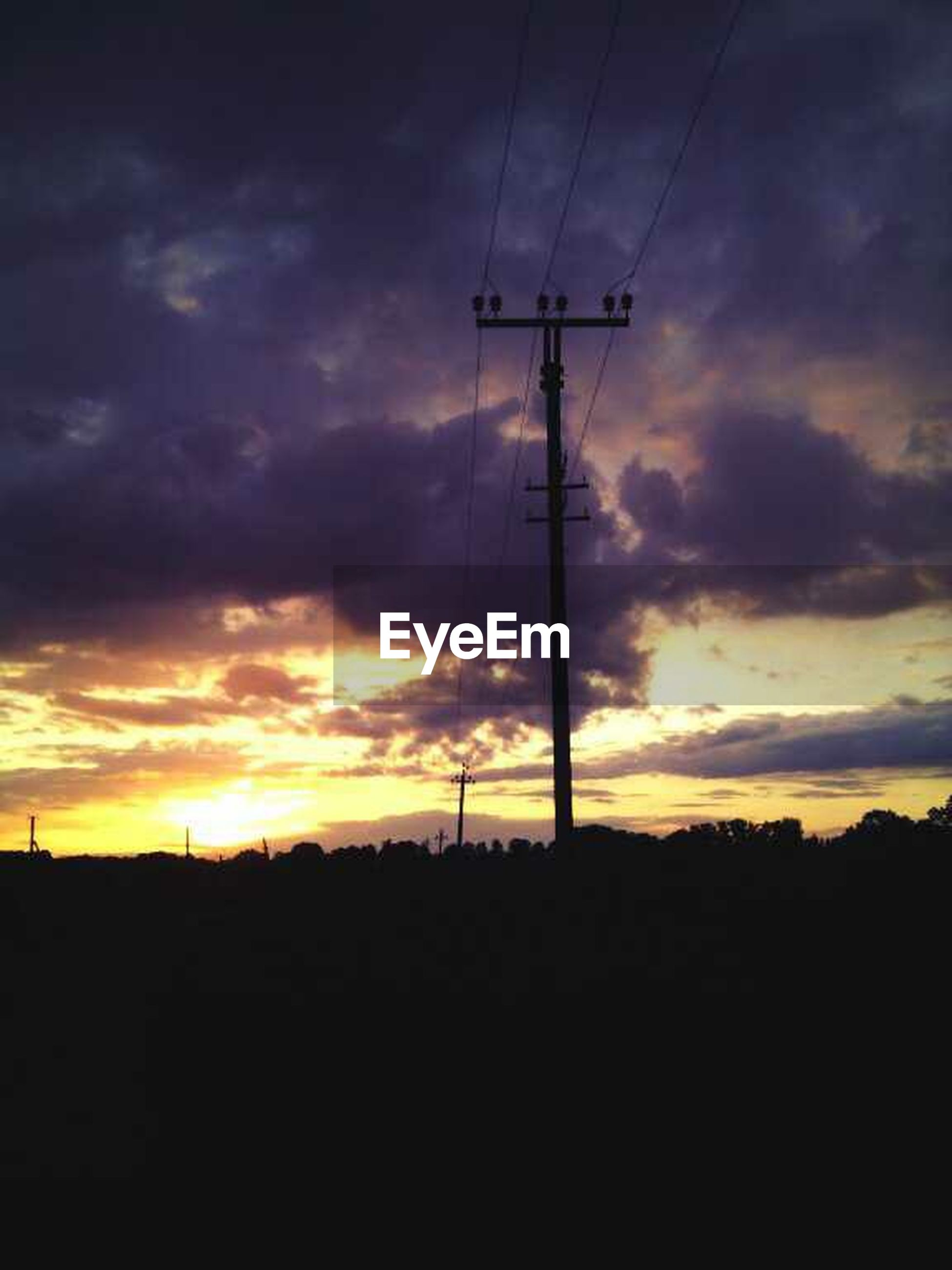 sunset, silhouette, sky, electricity pylon, power line, fuel and power generation, orange color, electricity, cloud - sky, technology, power supply, scenics, beauty in nature, tranquility, connection, tranquil scene, nature, dramatic sky, cloud, dark