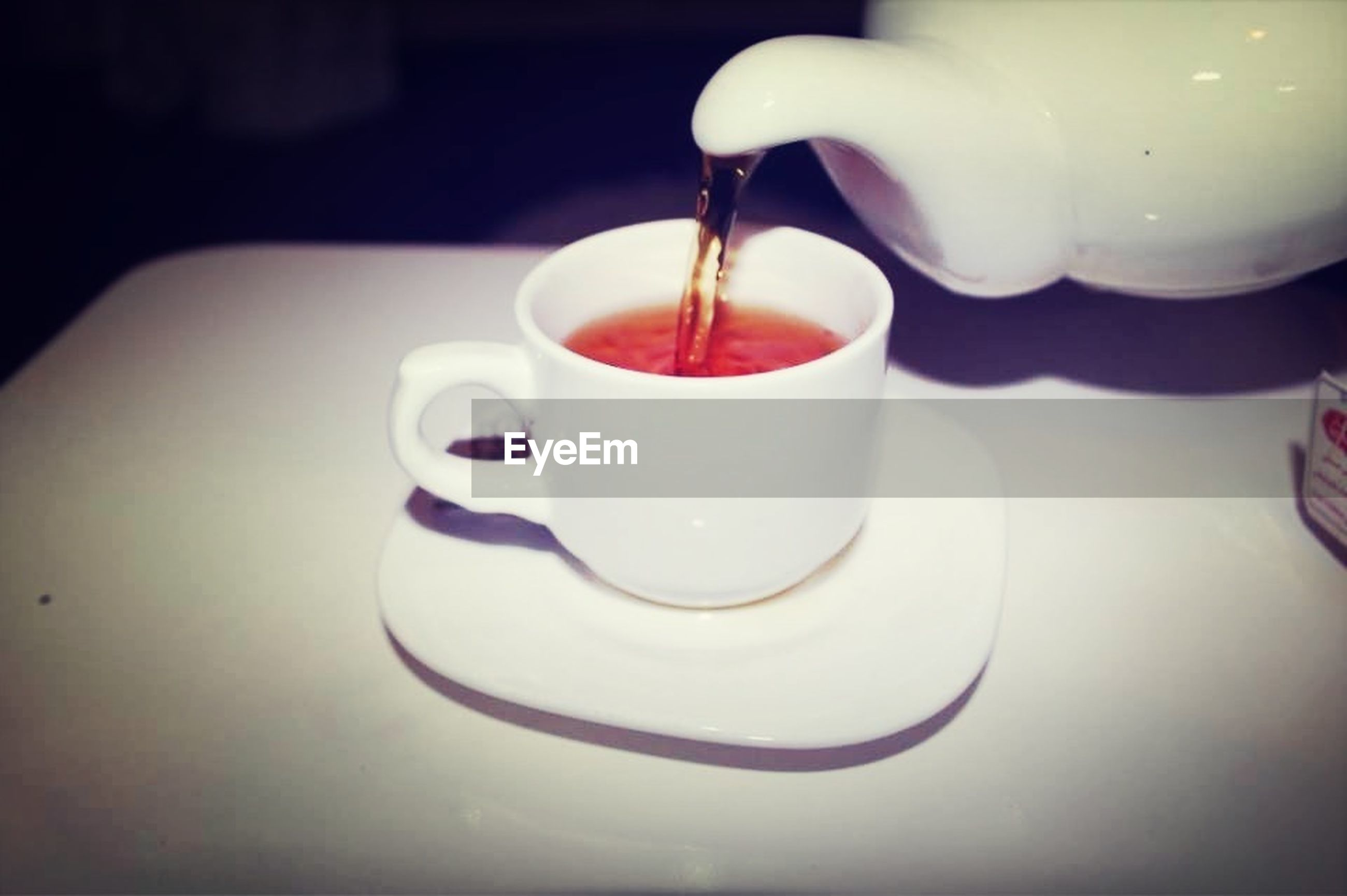 drink, food and drink, refreshment, indoors, table, coffee cup, freshness, saucer, still life, coffee - drink, coffee, cup, spoon, close-up, tea cup, high angle view, beverage, drinking glass, white color, no people
