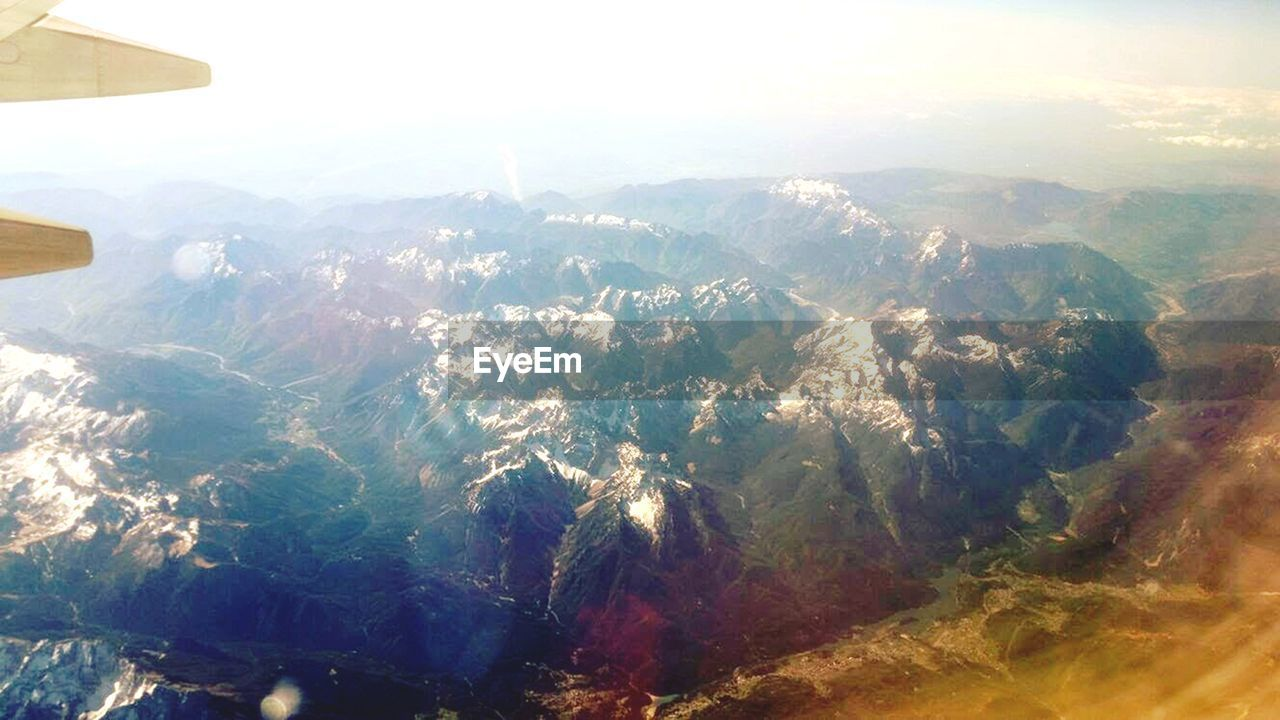 mountain, landscape, nature, journey, aerial view, no people, beauty in nature, scenics, holiday, outdoors, day, sky, range