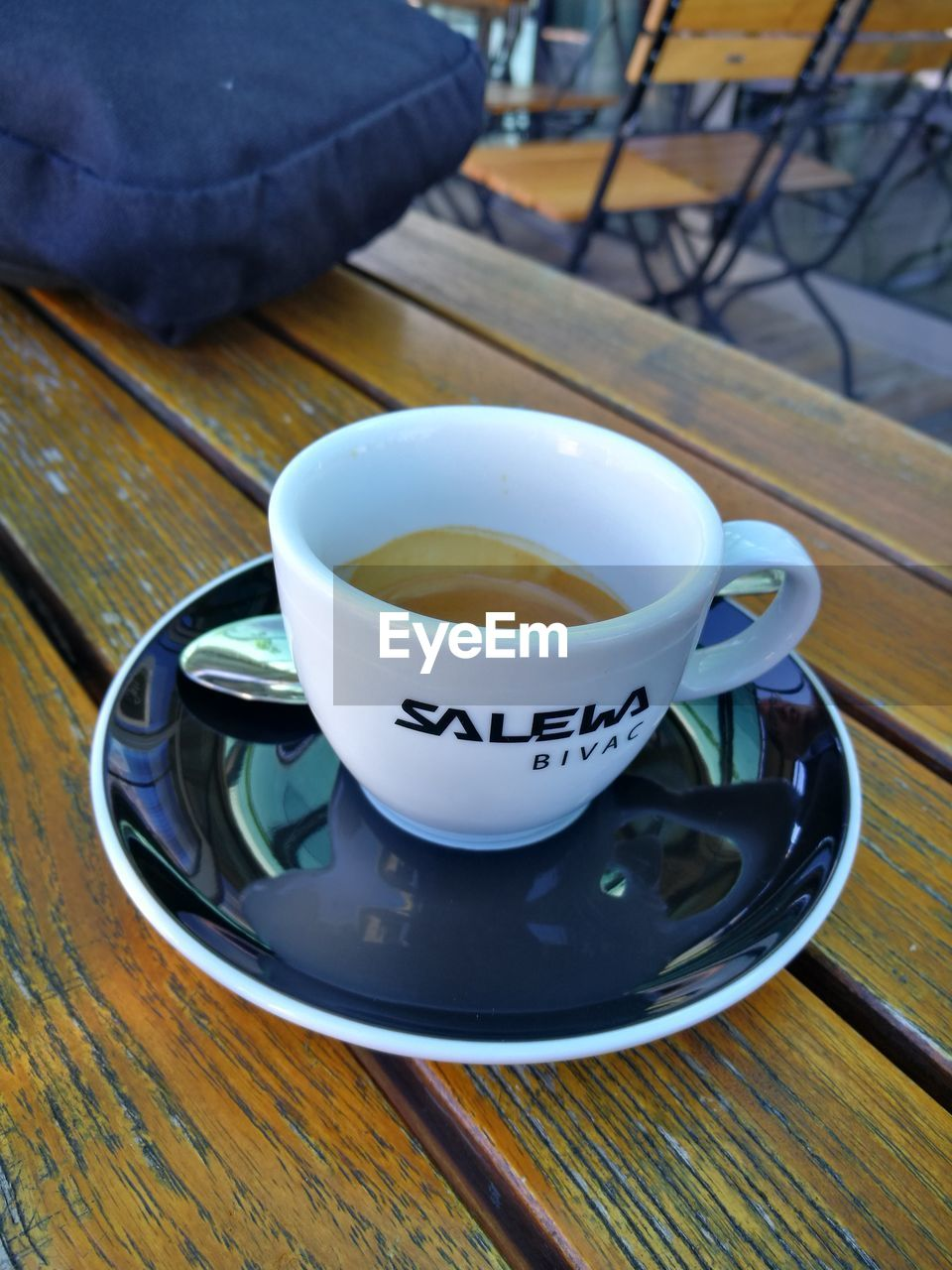drink, table, food and drink, refreshment, saucer, coffee cup, high angle view, indoors, no people, coffee - drink, freshness, wood - material, close-up, day