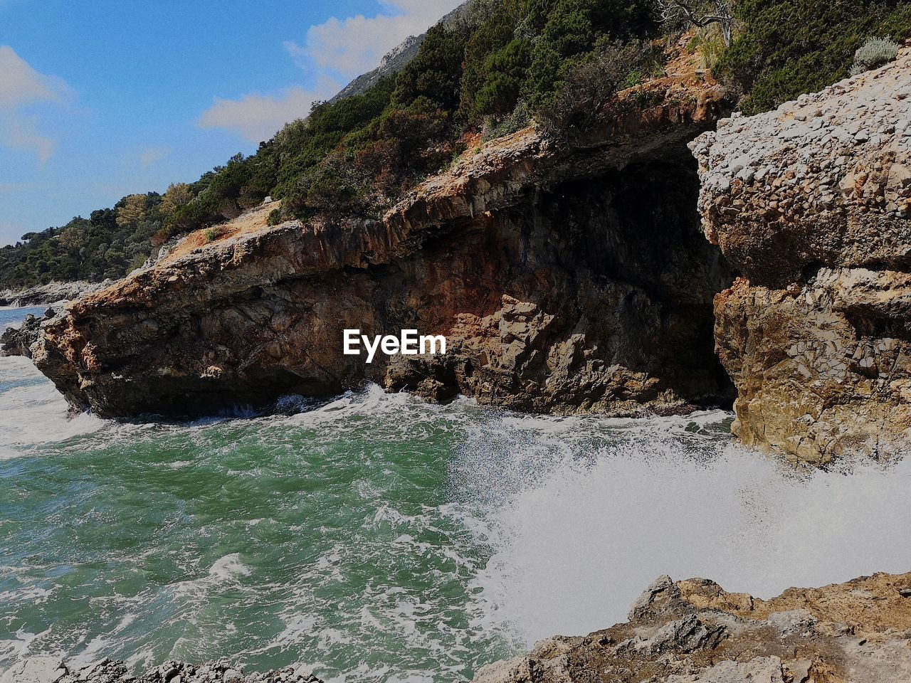 water, rock, sea, solid, rock - object, rock formation, beauty in nature, motion, day, nature, scenics - nature, no people, land, beach, aquatic sport, sport, mountain, tranquil scene, tranquility, outdoors, power in nature, flowing water, flowing