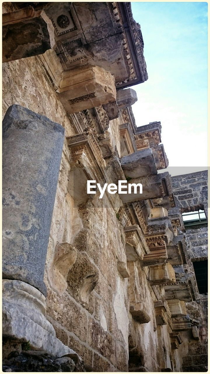 Low Angle View Of Aspendos