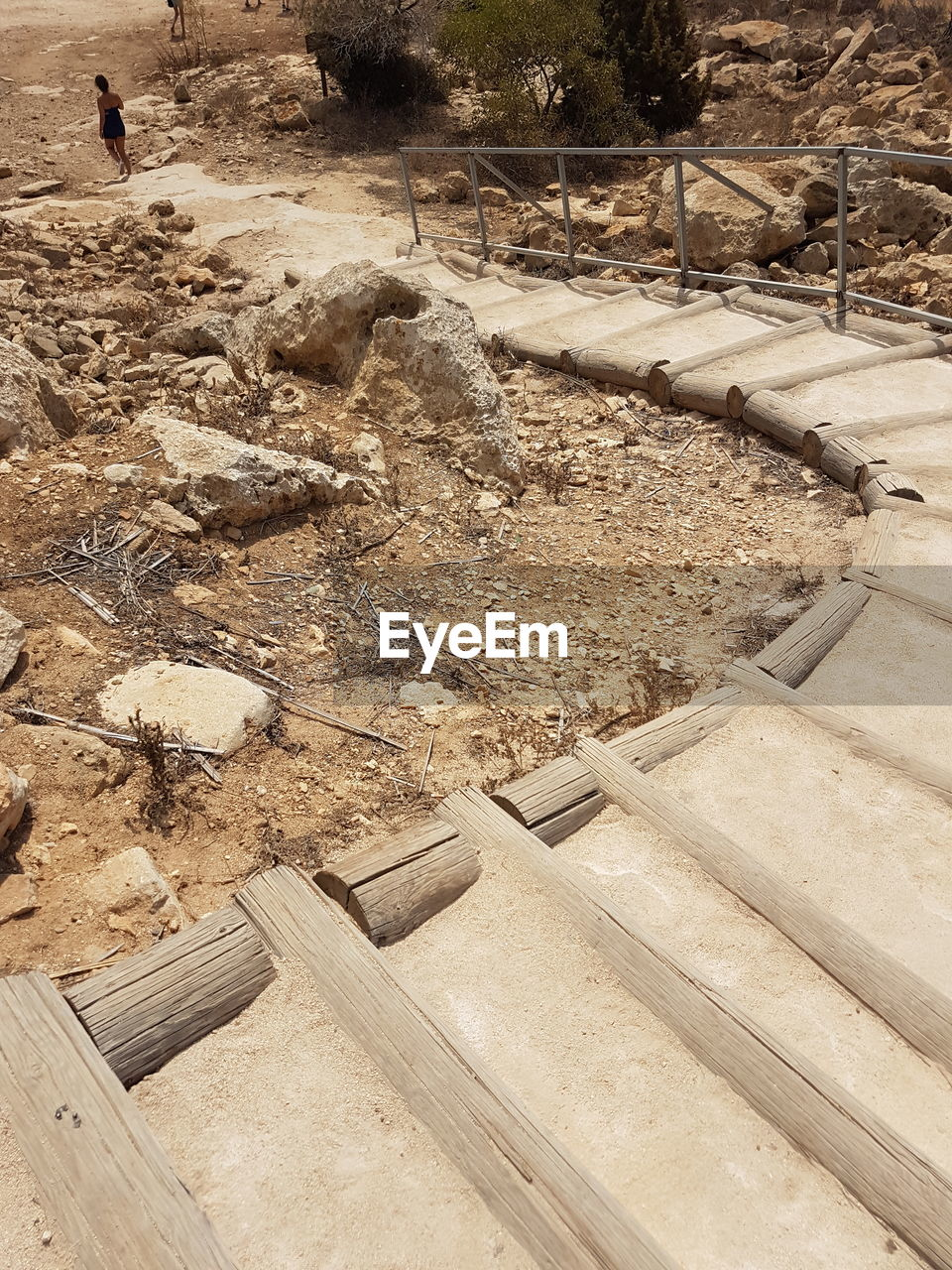construction site, day, high angle view, wood - material, outdoors, no people, architecture