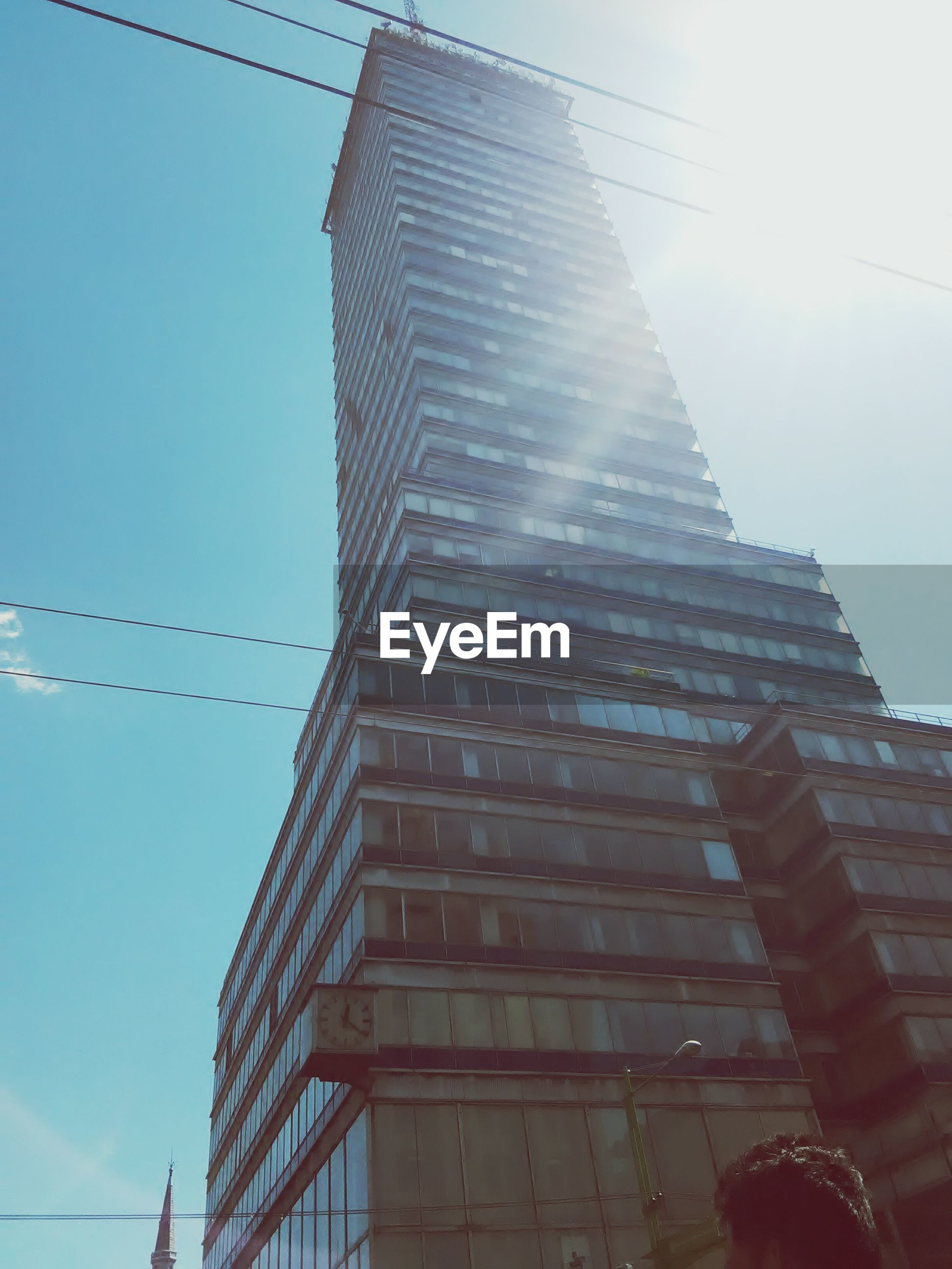 architecture, built structure, building exterior, low angle view, outdoors, sky, city, day, no people, skyscraper, modern
