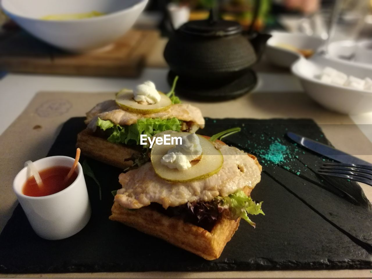 food and drink, food, freshness, table, plate, indoors, focus on foreground, no people, breakfast, ready-to-eat, healthy eating, close-up, drink, sweet food, day