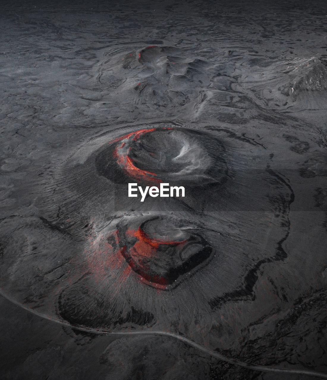 Full frame shot of lava