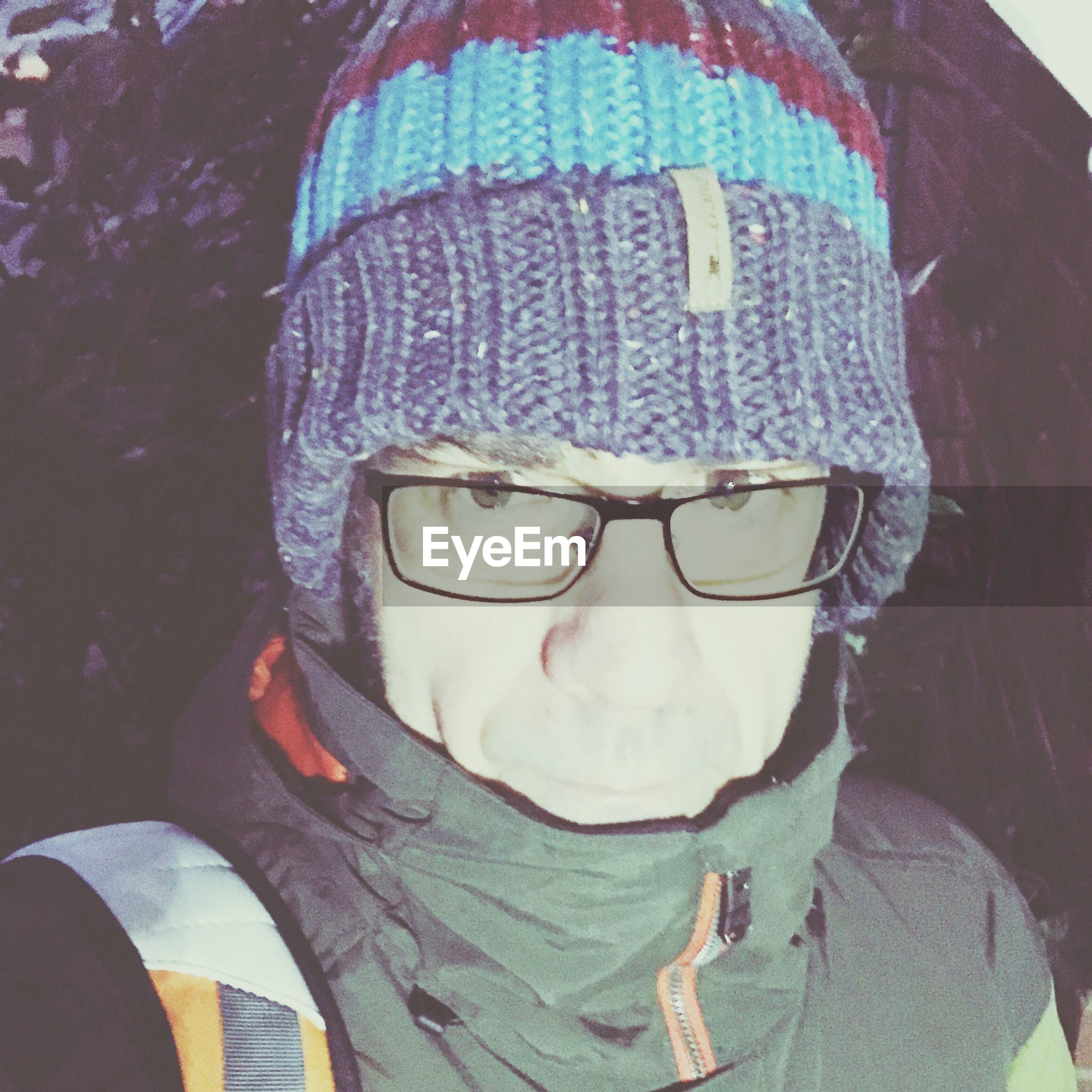 human representation, one person, knit hat, cap, close-up, clown, day, real people, wearing, outdoors, nature