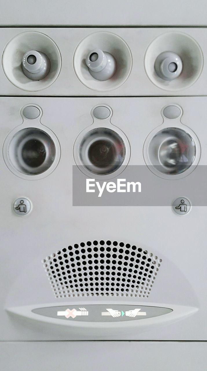 indoors, metal, washing machine, no people, close-up, day