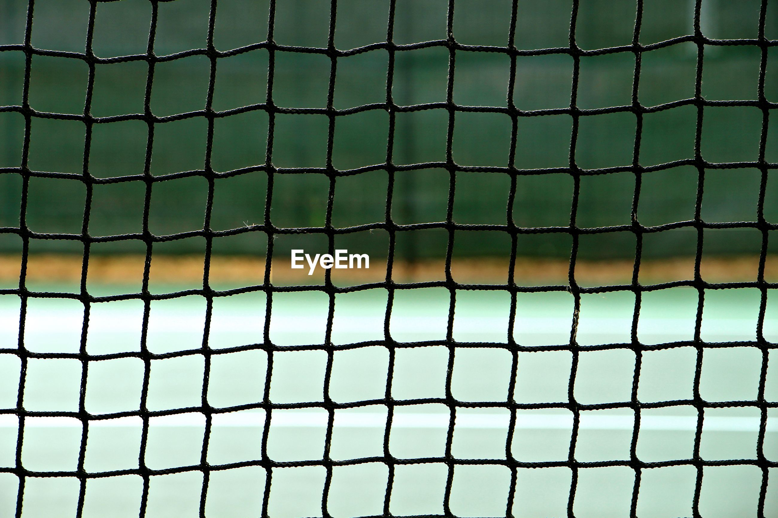 Close-up of net on sports court