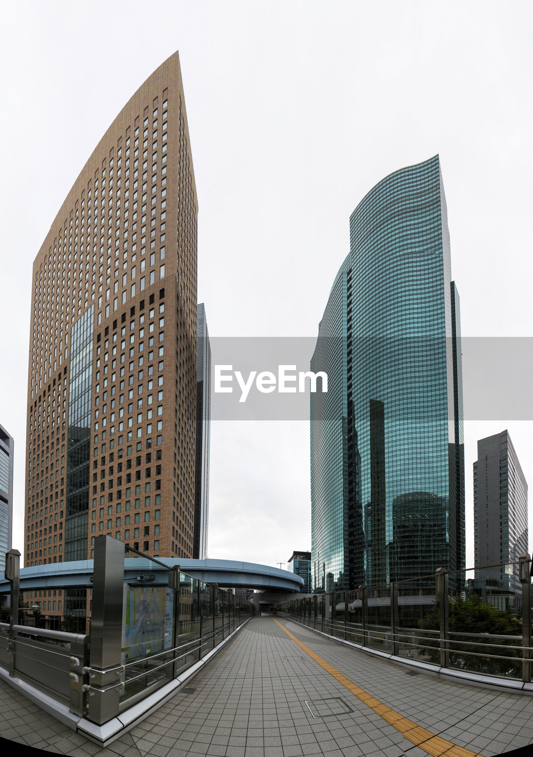 MODERN BUILDINGS AGAINST SKY