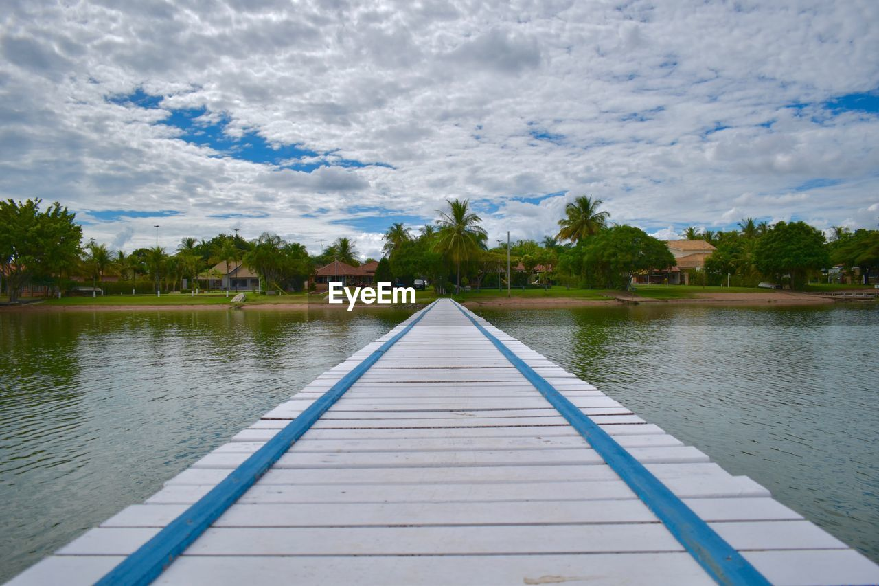 water, sky, cloud - sky, tree, plant, nature, day, lake, architecture, the way forward, direction, tranquility, beauty in nature, no people, scenics - nature, diminishing perspective, built structure, tranquil scene, outdoors
