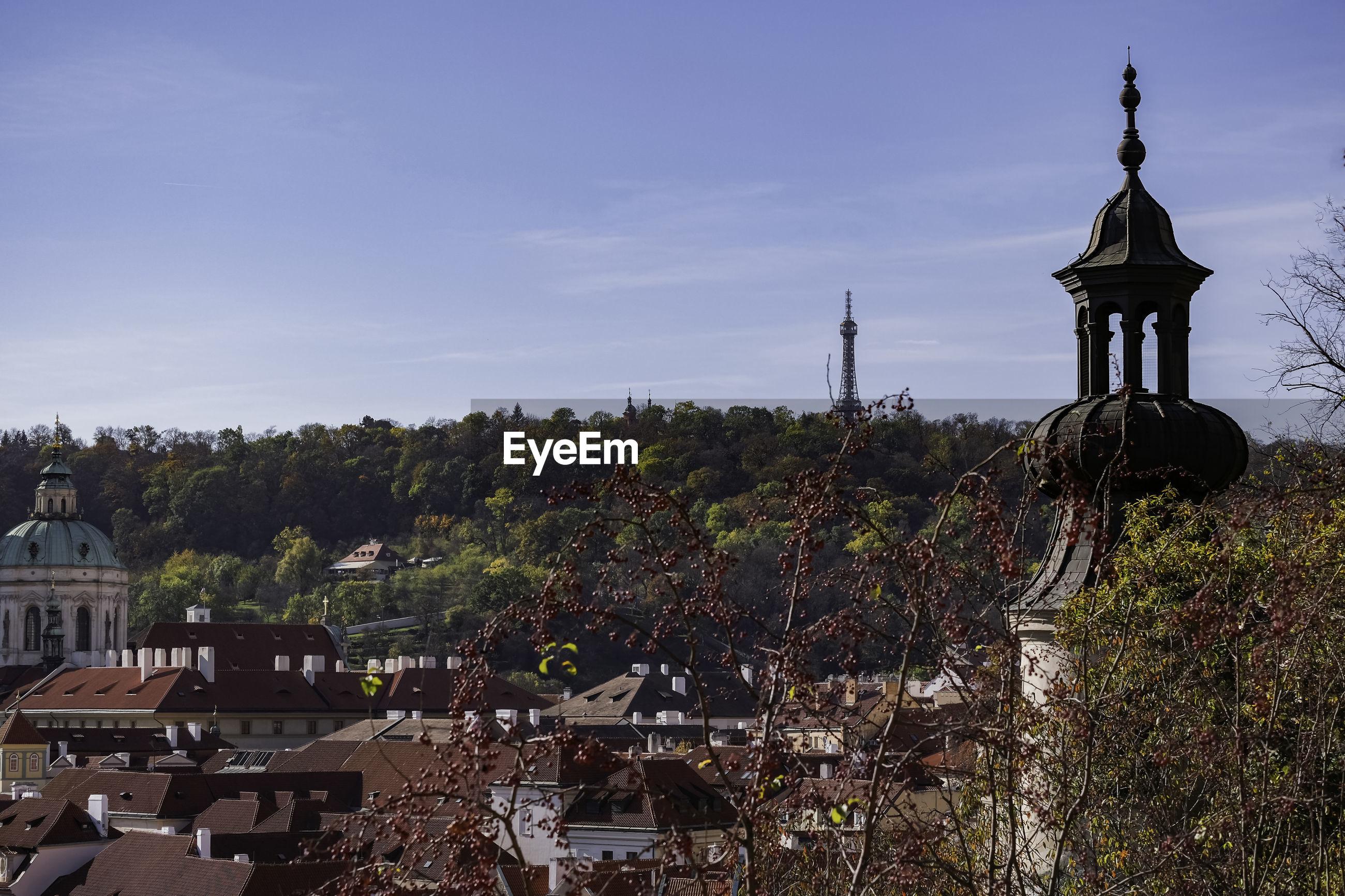 View of buildings in prague against sky