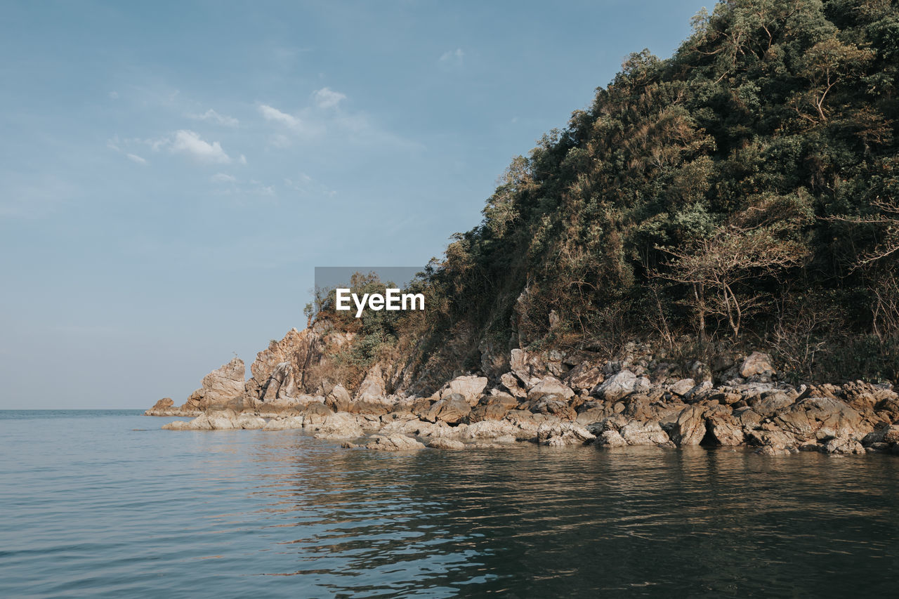 Pitak island in chumphon province