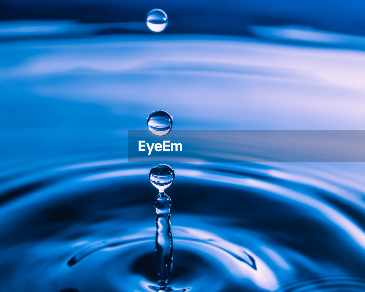 Close-Up Of Water Drops