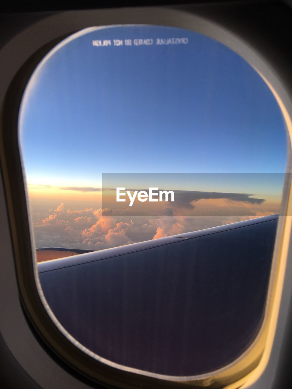 airplane, transportation, air vehicle, sky, window, no people, travel, landscape, mode of transport, scenics, journey, close-up, day, airplane wing, nature, beauty in nature, indoors