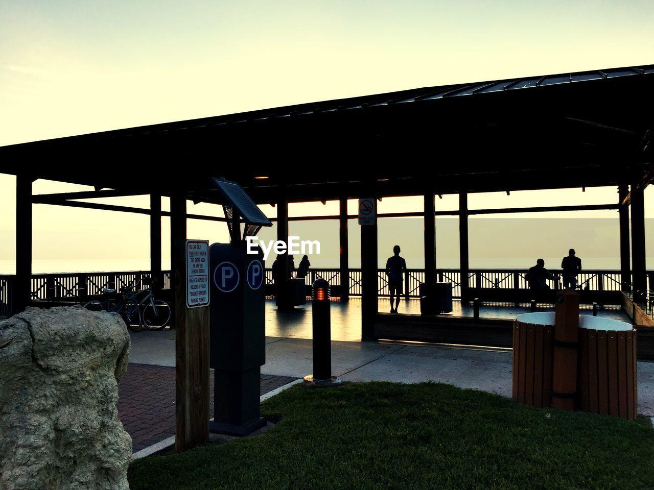 Observation Point At South Beach Park Against Sky