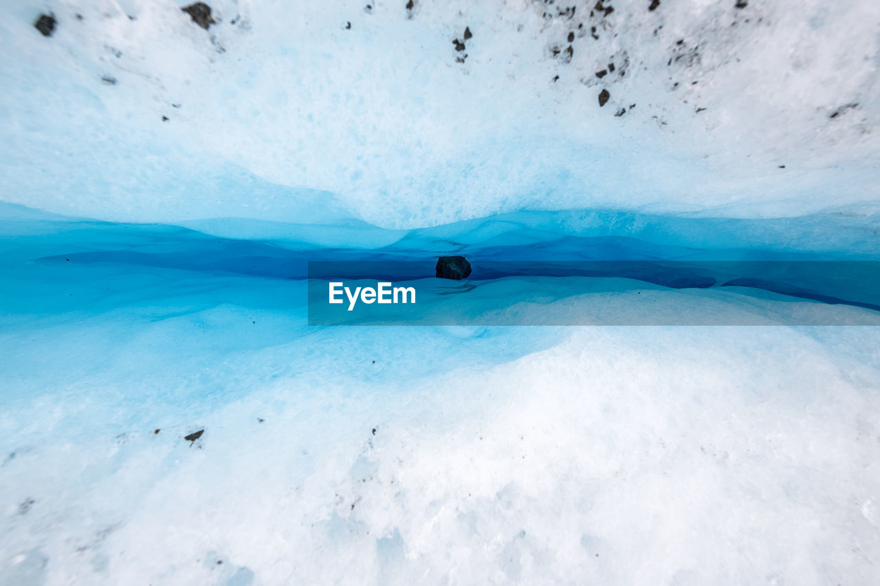 Scenic View Of Glaciers And Lyngen Alps