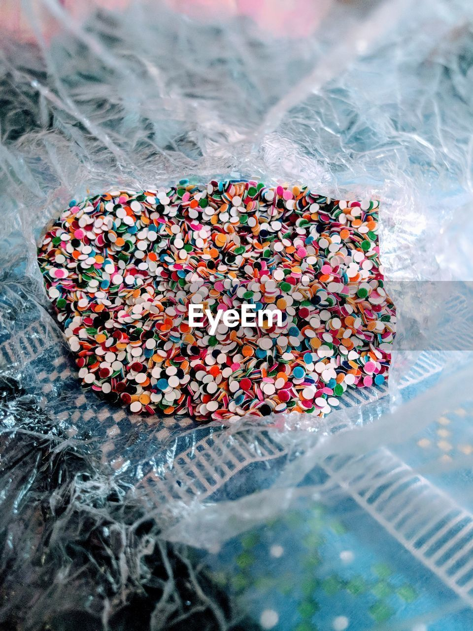 sweet food, multi colored, sweet, no people, food and drink, still life, indulgence, sprinkles, food, candy, unhealthy eating, close-up, temptation, high angle view, indoors, abundance, selective focus, ready-to-eat, freshness, choice, snack