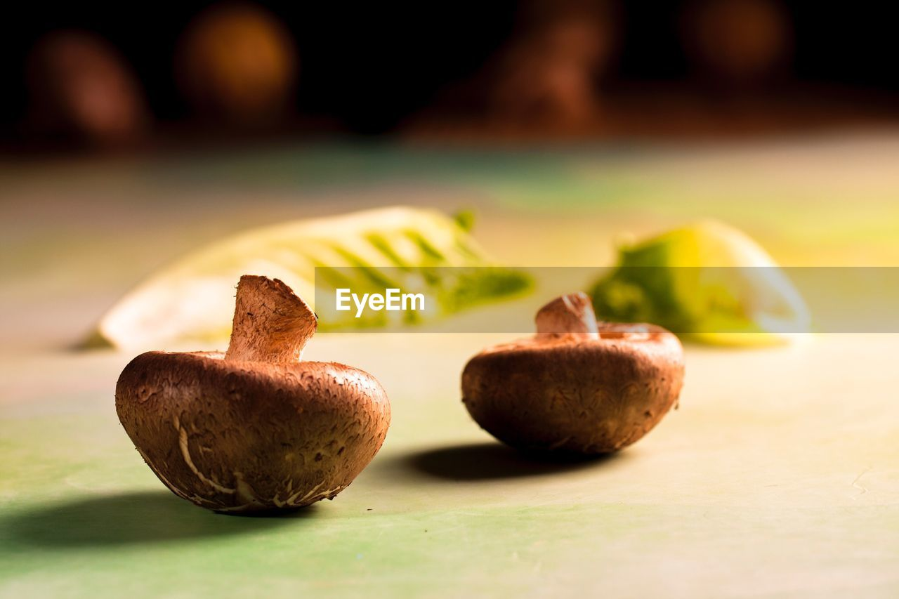 food and drink, food, healthy eating, freshness, fruit, close-up, still life, wellbeing, no people, table, selective focus, focus on foreground, indoors, nut, nut - food, green color, day, brown, nature, temptation, snack