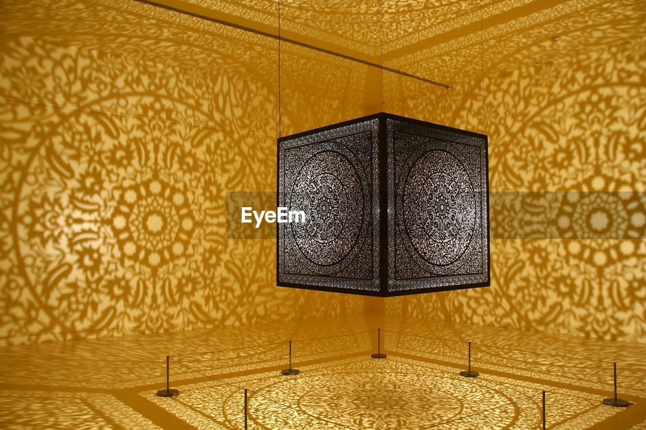 indoors, design, pattern, ornate, home interior, architecture, luxury, no people, yellow, luxury hotel, home showcase interior, day, close-up
