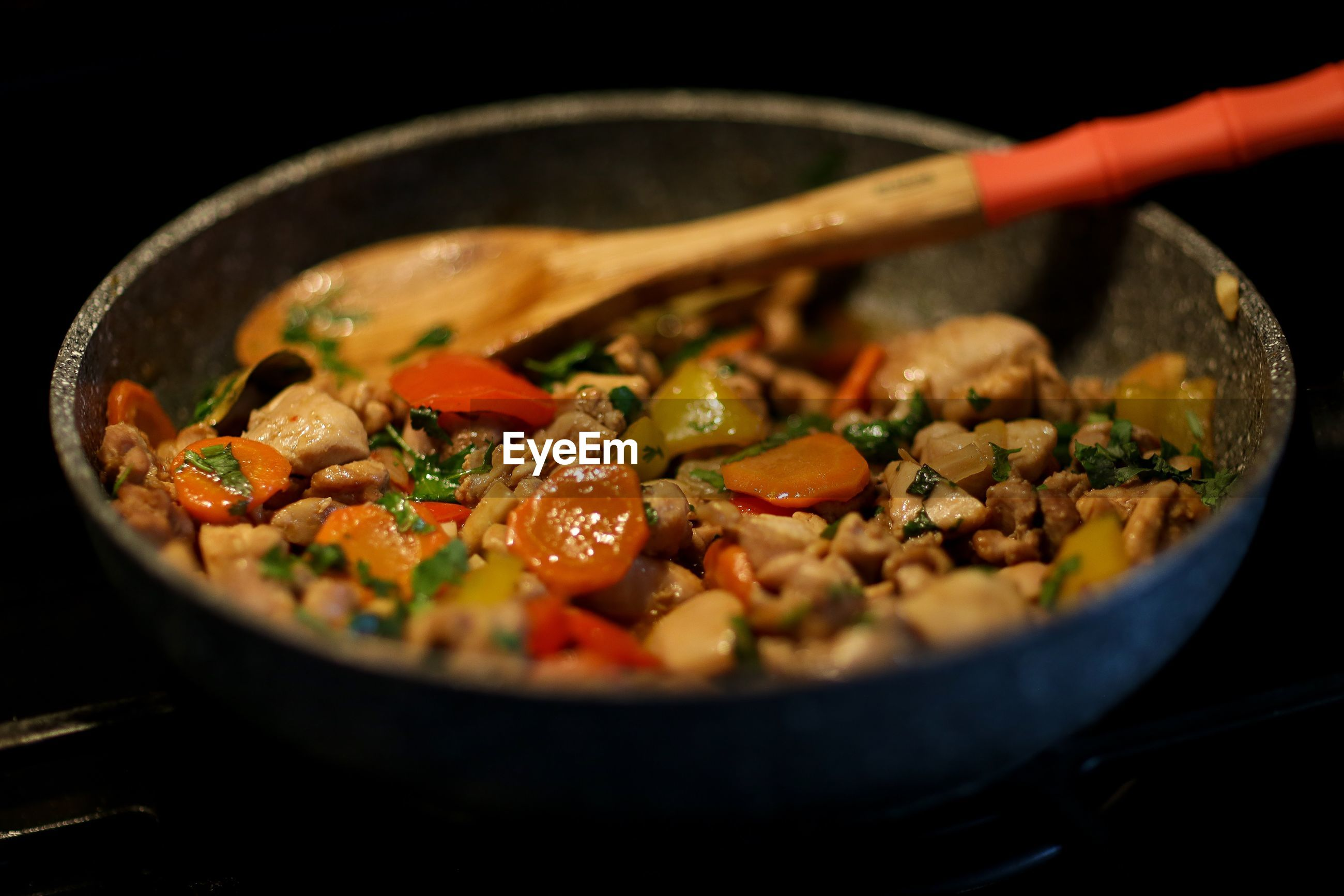 Close-up of soyabean with root vegetables