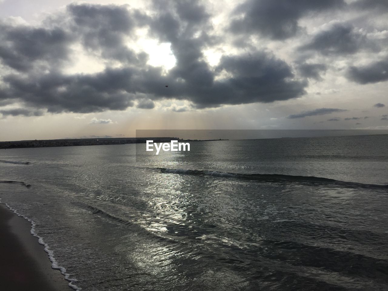 sea, water, horizon over water, sky, nature, cloud - sky, tranquility, scenics, tranquil scene, beauty in nature, no people, outdoors, beach, day, storm cloud, sunset