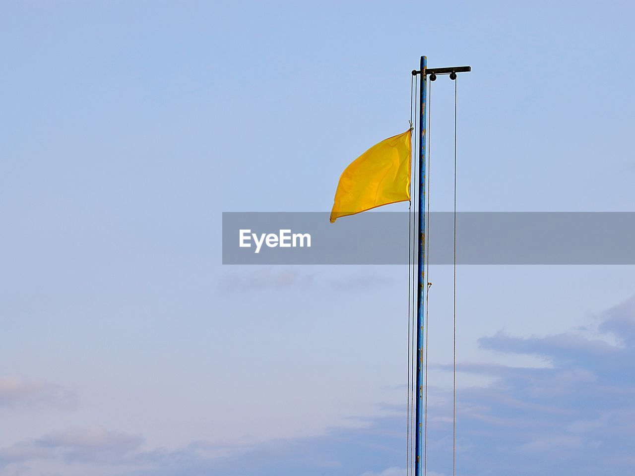 flag, sky, low angle view, day, no people, outdoors, cloud - sky, nature, beauty in nature
