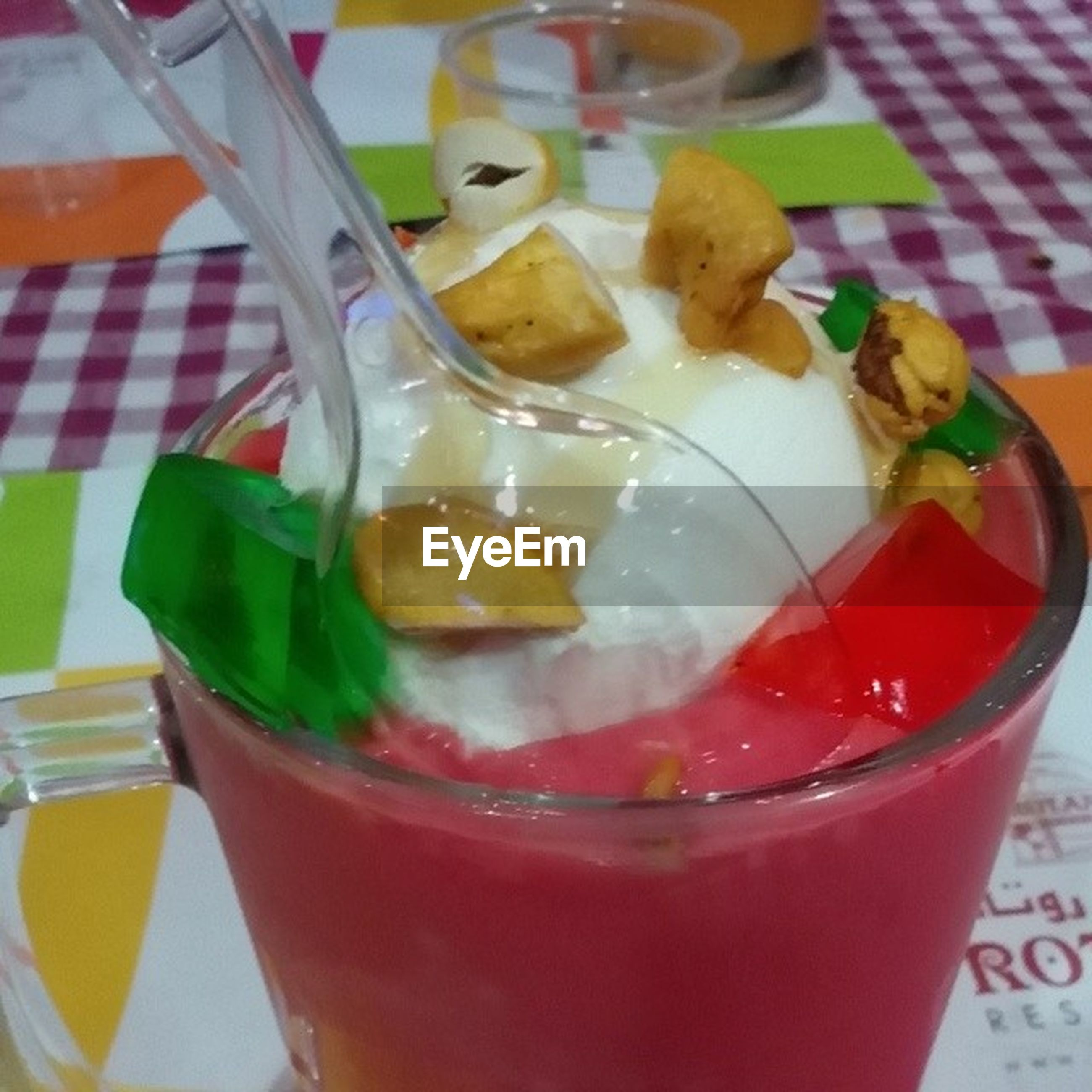 food and drink, freshness, food, indoors, ready-to-eat, still life, close-up, indulgence, drink, table, plate, serving size, healthy eating, refreshment, drinking glass, sweet food, slice, red, focus on foreground, temptation