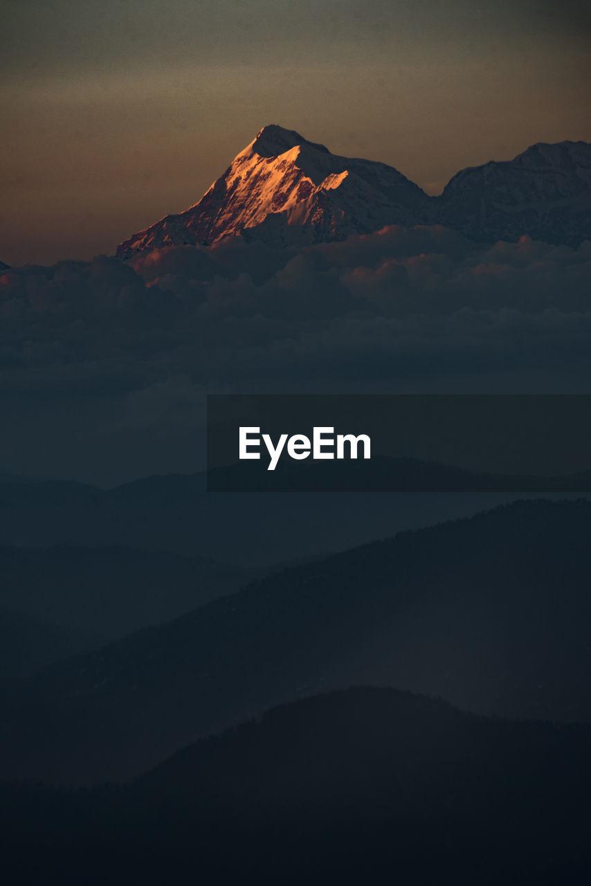Mount trishul from nainital uttarakhand india