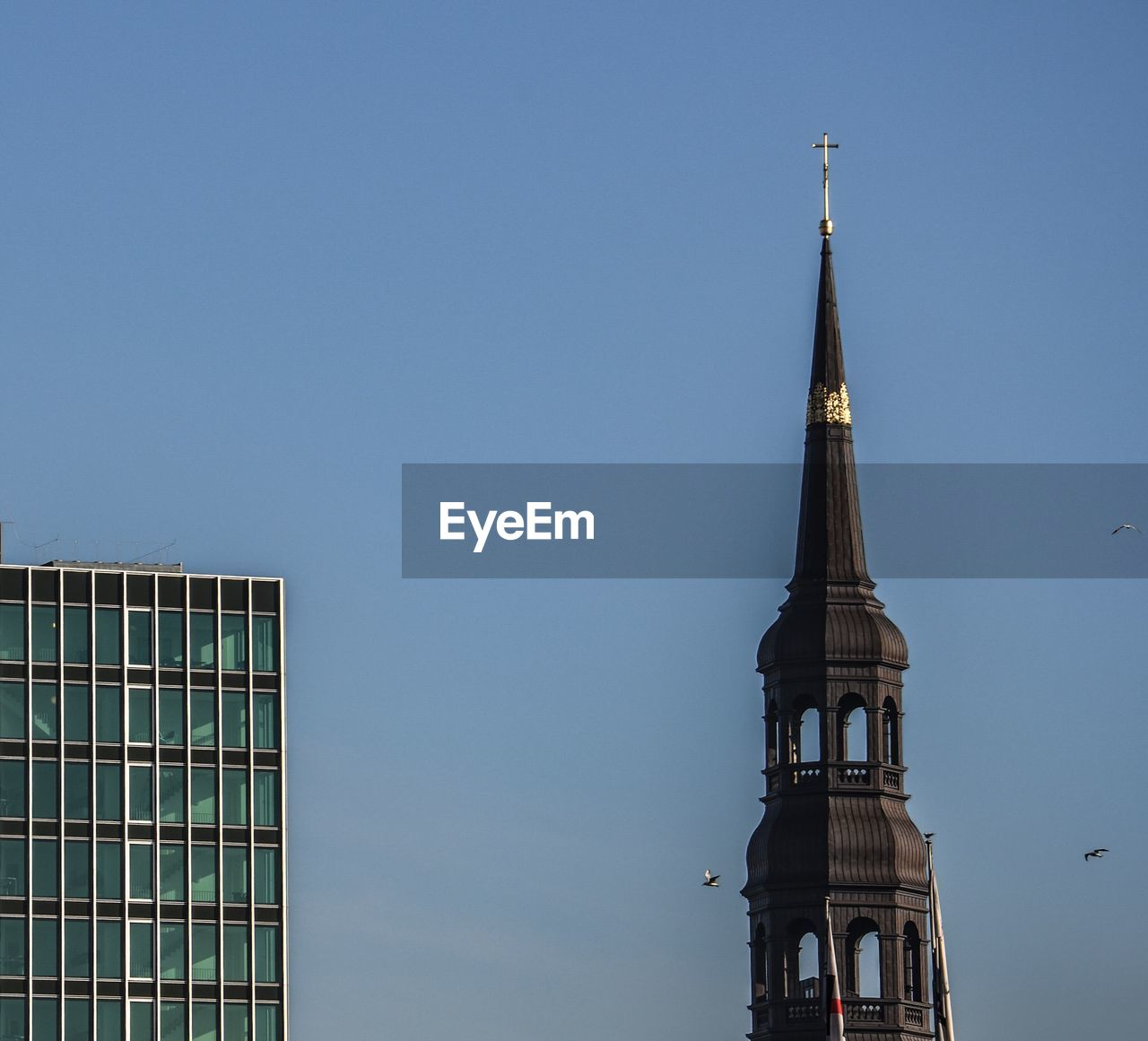 architecture, religion, clear sky, built structure, spirituality, place of worship, building exterior, no people, day, modern, outdoors, sky