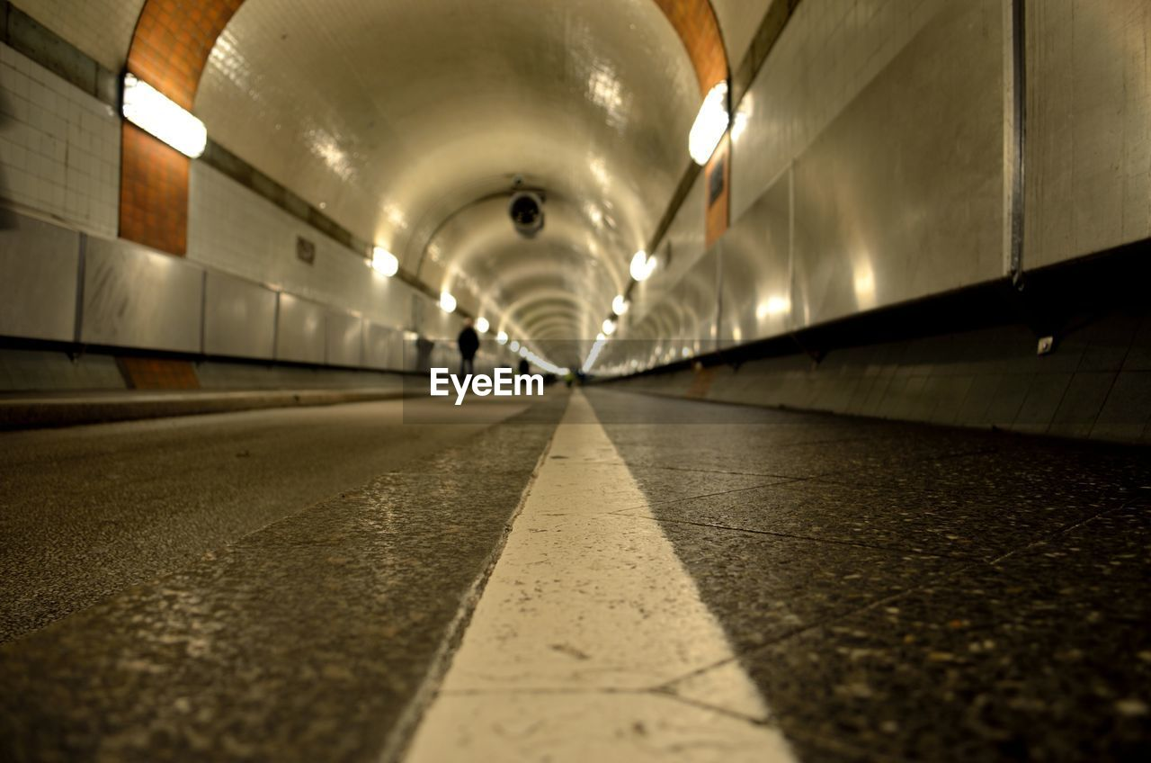 Surface Level View Of Tunnel