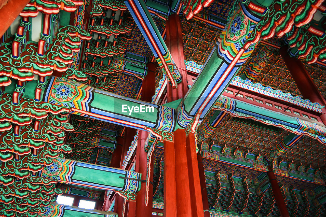 Korea Photos Korean Traditional Architecture Seoul Travel Travel Photography Architecture Built Structure Day Interior Design Low Angle View No People Palace Tour Tourism