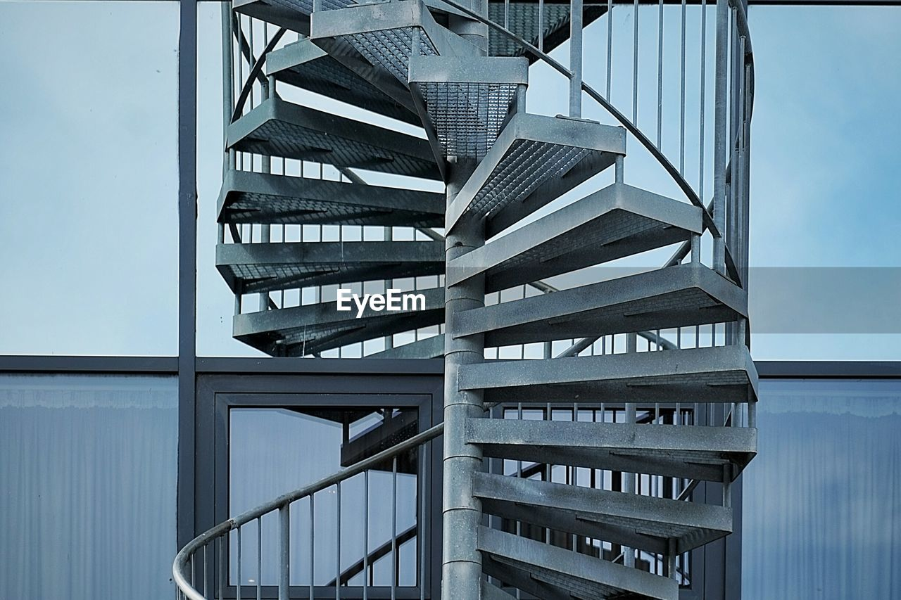 View Of Spiral Staircase