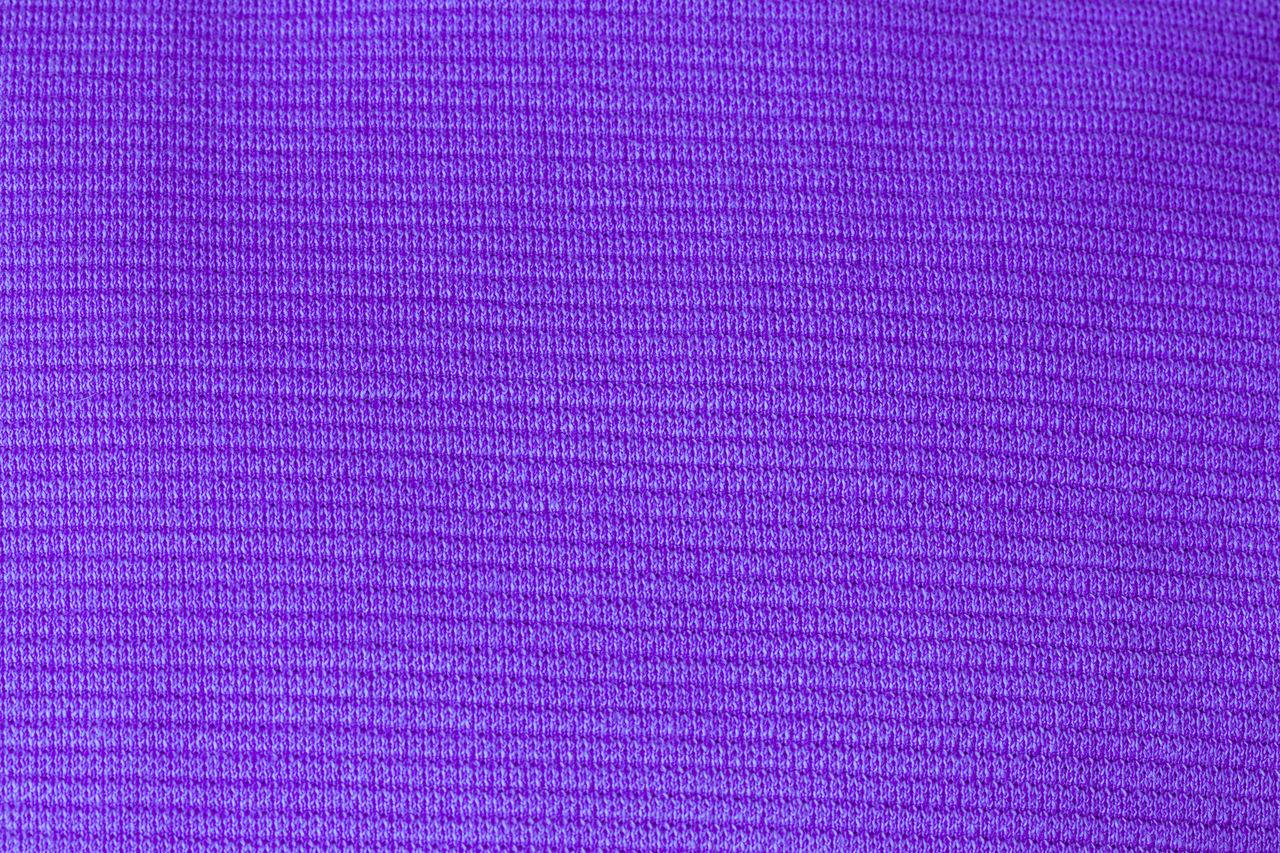 Full frame shot of purple woolen textile