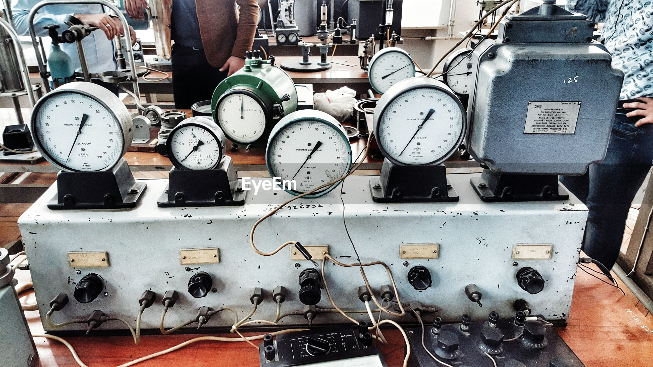technology, close-up, connection, gauge, day, business finance and industry, no people, indoors, clock, pressure gauge