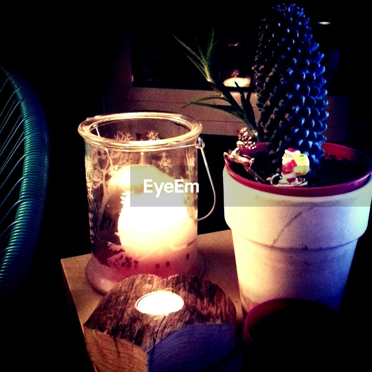 candle, flame, indoors, table, burning, illuminated, no people, night, close-up, heat - temperature