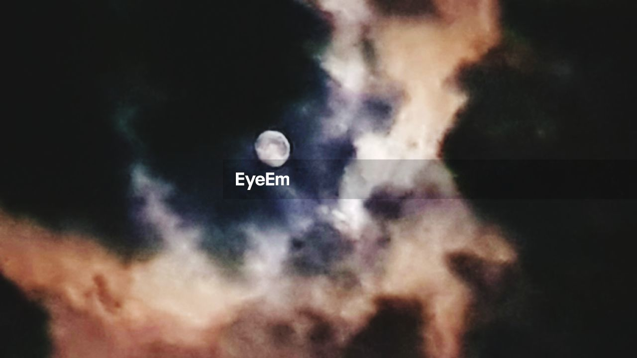 sky, space, moon, astronomy, night, cloud - sky, beauty in nature, space exploration, scenics - nature, nature, no people, low angle view, tranquility, tranquil scene, outdoors, majestic, exploration, glowing, star - space, discovery, planetary moon, moonlight, full moon, eclipse