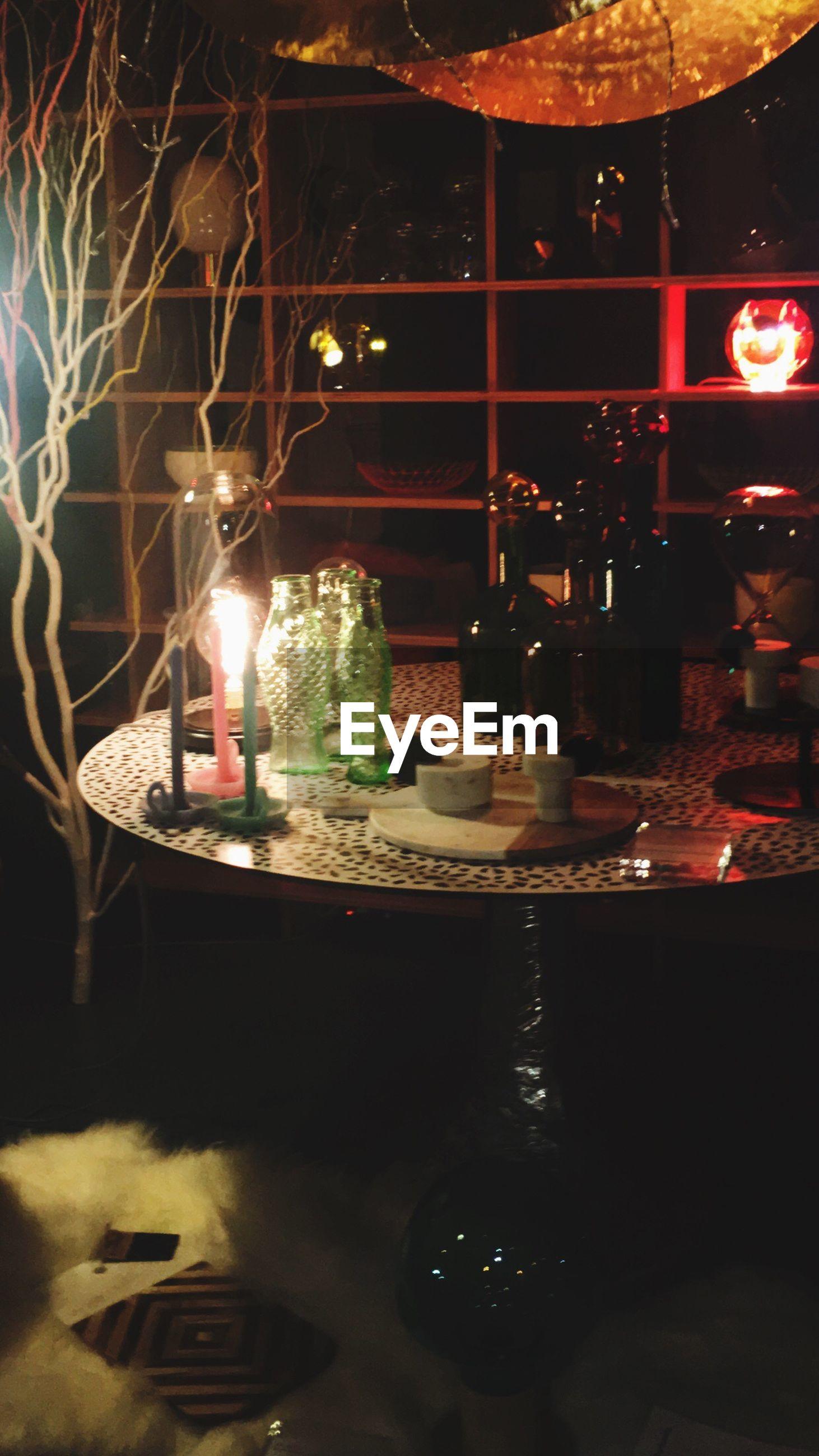illuminated, lighting equipment, night, indoors, no people, christmas, burning, oil lamp