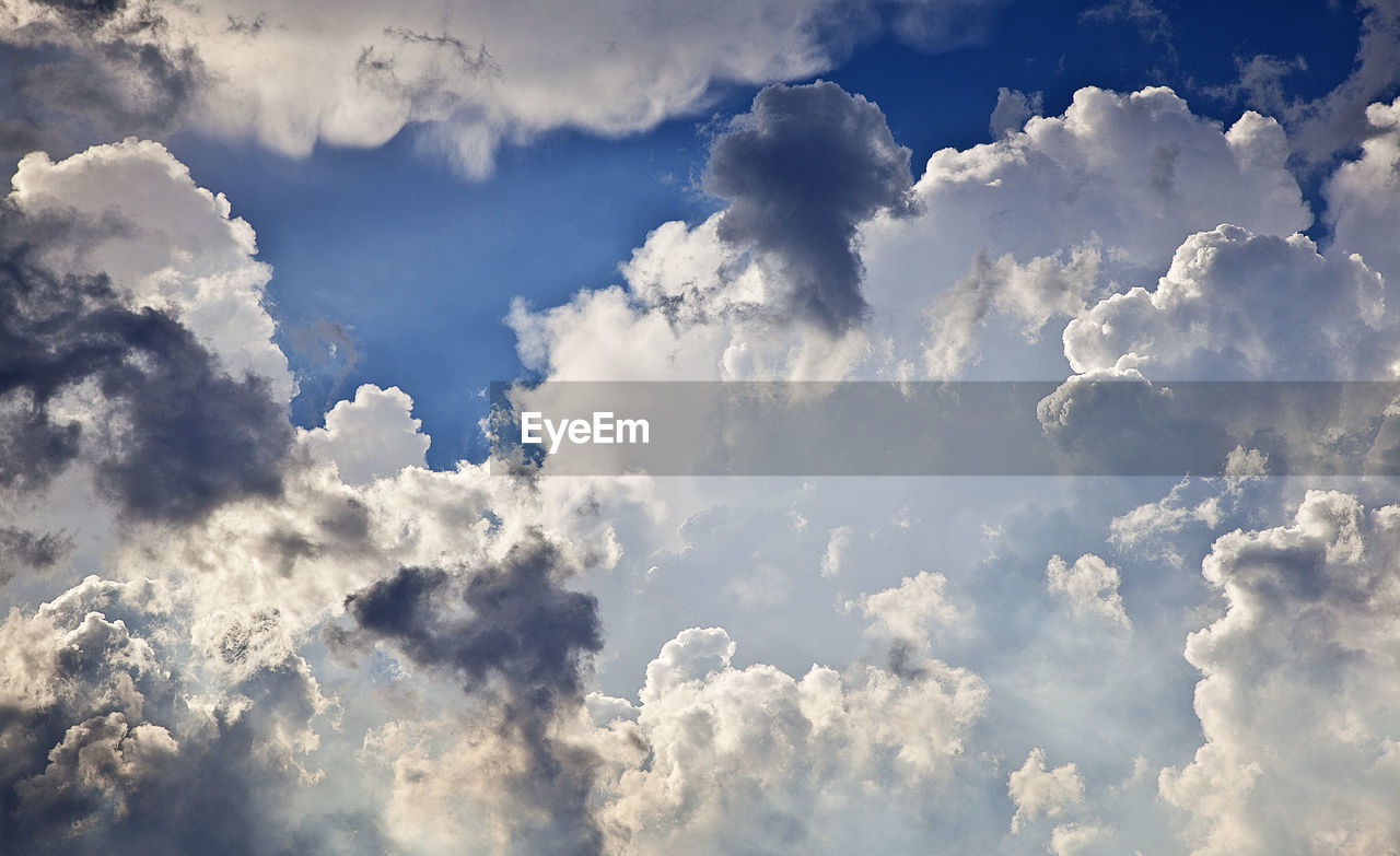cloud - sky, nature, beauty in nature, sky, tranquility, cloudscape, backgrounds, sky only, white color, low angle view, no people, heaven, scenics, day, full frame, outdoors, blue